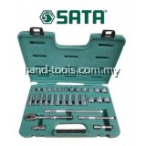 "Sata 09059  31pc 3/8""Dr. 6PT Socket Set (Metric)"