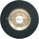 YRK2208150K 115x22mm ALUM/BACK ZIRC FLAP DISC P120