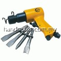 yama AT-2010 R / H  AIR HAMMER with 4 pce chisels