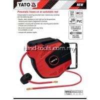 yato yt-24242 12mm x 10mtr Auto Retractable Pneumatic Air Hose Reel.