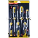 Stanley 65-156 6pc Torx Screwdriver Set(T10,T15,x 80mm,& T20,T25,T30,T40,x120mm)