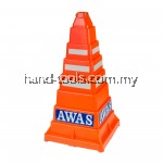 Collapsible PE Traffic Safety Cone  (Orange)