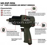 Mr.Mark MK-EQP-5026 1/2' Twin Hammer Air Impact Wrench