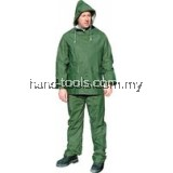 5011G RAINSUIT GREEN 2PCE Size:L