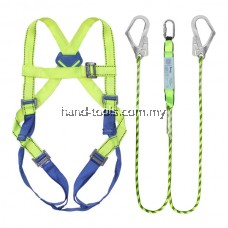 91-SH089 SAFETY HARNESS With Double Hooks Lanyard
