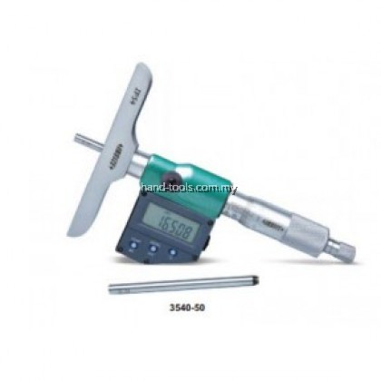 insize 3540-200 ELECTRONIC DEPTH MICROMETER 200mm/8""