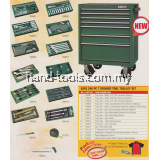 SATA 95110P-11 7 Drawer Tool Trolley Set 246pcs