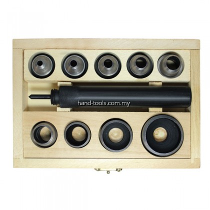 54-PP532 5-32MM 10-PCE HOLLOW PUNCH SET