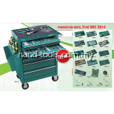 sata 95107P-15 298 PCS TOOLS SET WITH 7 DRAWER ROLLER CABINET