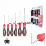 Wiha  07155 Softfinish® Torx® Screwdriver Set - Round Blades - 6 pcs