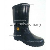 "COLEX RB7700 12"" PVC RAIN BOOT BLACK"