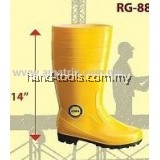 "COLEX RG8800 14"" PVC RAIN BOOT YELLOW"