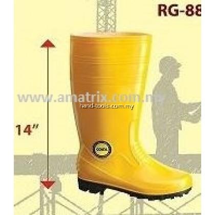 "COLEX RG8800 14"" PVC RAIN BOOT YELLOW"