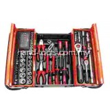 "MK-393 62 PCS 1/2"" DR.SOCKET & TOOL SET"