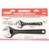 "KEN5010620K 6""/10"" PHOSPHATE FINISH ADJUSTABLE WRENCH SET"