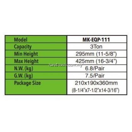 MR.MARK MK-EQP-111-03T 3 TON JACK STAND SET
