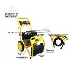 EUROX EHY4001  6.5hp/196cc Engine Type square pump High Pressure Washer 200BAR