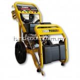 EuroX EHY2001 6.5hp/196cc 200Bar cylinder pump Gasoline Pressure Cleaner