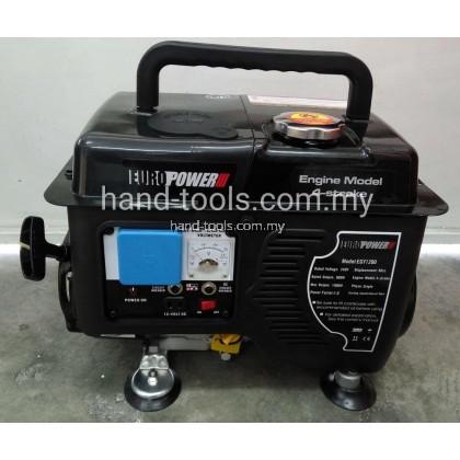 Eurox EGY1200 1000W Portable 4-Stroke Gasoline Generator
