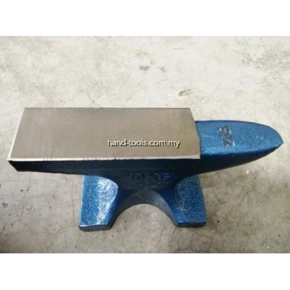 100Kg Cast Iron Steel Single Horn Anvil Bench