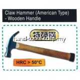 AIWO 8oz chw-23 CLAW HAMMER (AMERICAN TYPE)- WOODEN HANDLE