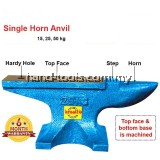 ind-25 25kg CAST IRON STEEL SINGLE HORN ANVIL BENCH