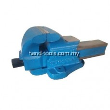 """125MM / 5"""" BENCH VISE Double Ribbed with large Anvil & Malleable cast nut HE101-125"""