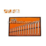 "MR.MARK MK-TOL-16115A 14 PCS COMBINATION WRENCH SET 3/8""-1-1/4"""