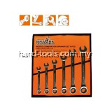 MR.MARK MK-TOL-11195M 6 PCS RATCHET WRENCH SET 8-19MM