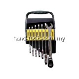MR.MARK MK-TOL-11117 7 PCS FLEXIBLE RATCHET WRENCH SET 8-19MM