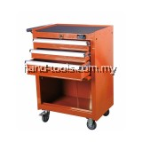 MR.MARK MK-EQP-0304 118PCS 3 DRAWER CHEST AND ROLLER CABINETS (ORANGE)