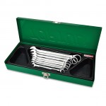TOPTUL GAAD0810 8PCS PRO-SERIES RATCHET COMBINATION WRENCH SET