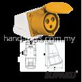 Supaku CEE 113-4 16A 110-130V IP44 Weatherproof Wall Socket