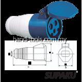 Supaku CEE 213 16A 220-240V IP44 Weatherproof Socket