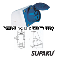 Supaku CEE 113 16A 220-240V IP44 Weatherproof Wall Socket