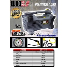 Euro-X EJH1411 1.8kW 140Bar Heavy Duty Induction High Pressure Washer