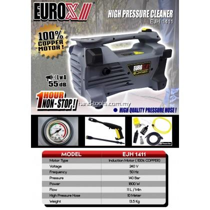 Euro-X EJH1411 1.8kW 140Bar Heavy Duty Induction High Pressure Washer