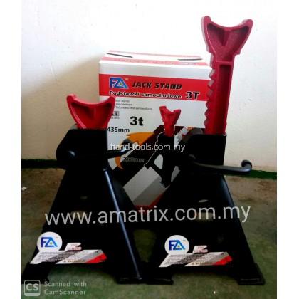 FA Advance FA-3T-JS 3 Ton Steel Garage Jack Stand (per pair)