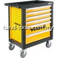 Vorel YT-58540 6 Drawers Roller Cabinet with 177pcs Mechanic Tools