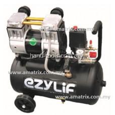 EzyLif HED30T 1.3HP 30L Ultra Quiet Oil-Free Air Compressor