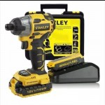 Stanley SBI201D2K 18V Brushless Cordless 6.35mm Hex Impact Driver