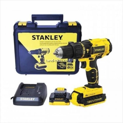 Stanley SBH201D2K 18V Brushless Cordless Impact Drill/Screwdriver