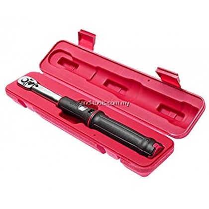 "JTC-4932 1/4"" WINDOW SCALE ADJUSTABLE TORQUE WRENCHES (5-25Nm)"