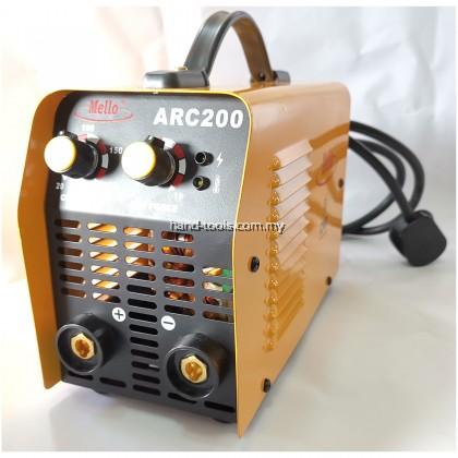 Mello ARC200 IGBT Inverter ARC Welding Machine 7kVA,20-180A