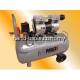 550W (0.75HP) 60Liter Silent Oil-Free Air Compressor RPM1400