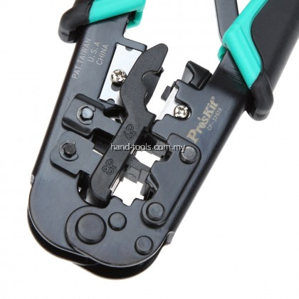 ProsKit CP-376TR 4P/6P/8P Crimping Tool