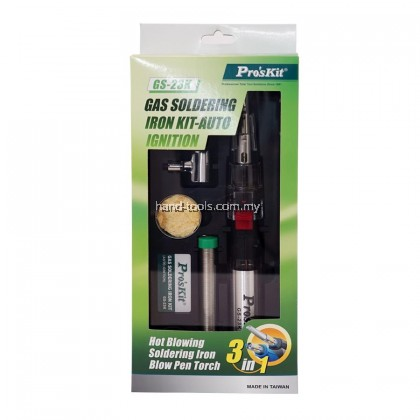 proskit GS-23K Gas Soldering Iron Kit-Auto Ignition