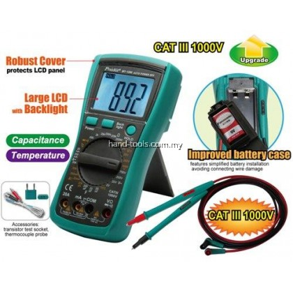 Pro'sKit MT-1280 3-1/2 Digital Multimeter