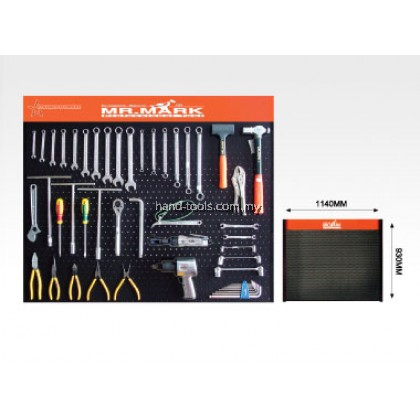 MK-EQP-014 DISPLAY PANEL TOOLS Easy mounting on walls by using the two slots located at the back of the panel
