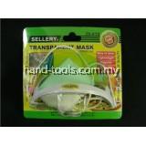 Transparent Sanitary Food Mask, Anti-Fog